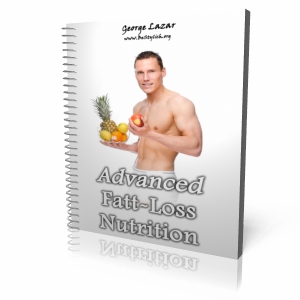 """AMAZING BONUS #1: """"ADVANCED FAT LOSS NUTRITION"""" (valued at $27) There are plenty of books about training and cardio... but none when it comes to real, real nutrition, that can make you lose pound after pound. Nutrition doesn't care about genetics. The more you know and apply, the less hard you have to train to get to the same result: a nice 6-pack."""